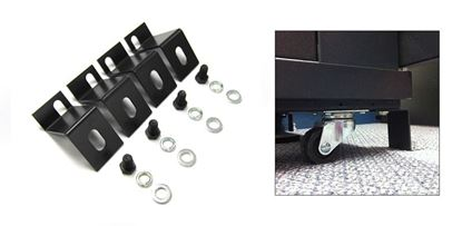 "Picture of DYNAMIX Bolt Down Kit for 2.5"" Castor Wheel. 4 pcs per pack."