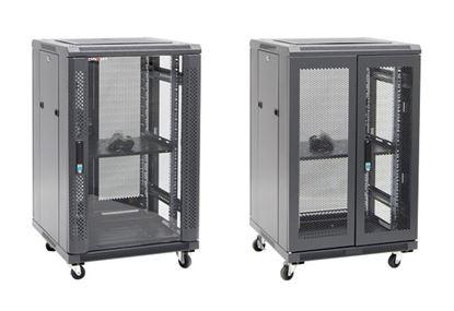 Picture of DYNAMIX 18RU Server Cabinet 700mm Deep (600 x 700 x 1008mm). Incl. 1x
