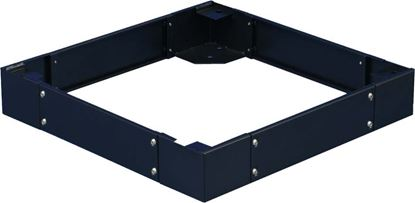Picture of DYNAMIX ST Series Cabinet Plinth. 100mm High, Suits 600 x 1200mm