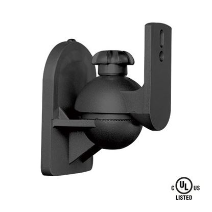 Picture of BRATECK Universal wall mount speaker bracket. Includes