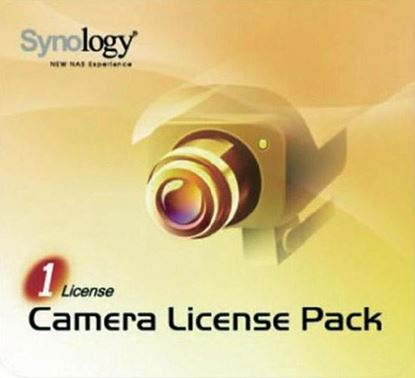 Picture of SYNOLOGY Camera Licence 1 pack For installing additional cameras