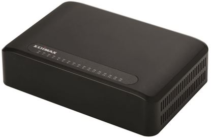 Picture of EDIMAX 16Port 10/100 Fast Ethernet Desktop Switch. Perfect Solution