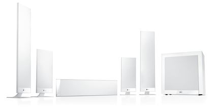 Picture of KEF Home Theatre Speaker System. Includes: 3x T301 for centre and