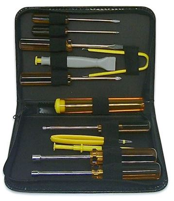 Picture of SPROTEK 12 Piece PC Repair Kit - 12 Piece Screwdrivers Extractor