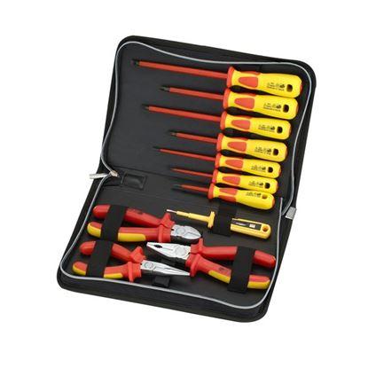 Picture of SPROTEK 11 Piece Screwdriver & Plier Set. 1000V Insulated.