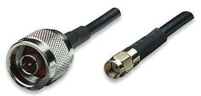 Picture of DYNAMIX 3m N-Type to RP-SMA Male to Male Cable, RG58/U