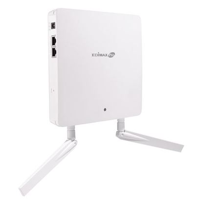 Picture of EDIMAX 2x 2 AC Dual-Band PoE Access Point. Wall mountable. High-