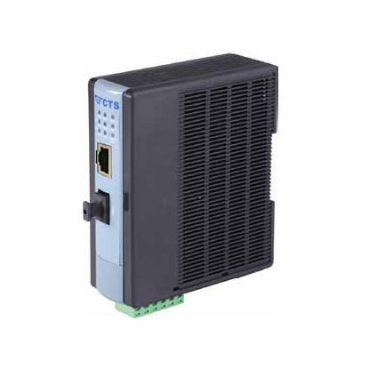 Picture of CTS 10/100 RJ45 to 100Base PoE/PSE Fibre MM ST Media Converter.