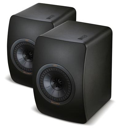 Picture of KEF Black Edition Innovative Studio Monitor Speakers. Uni-Q