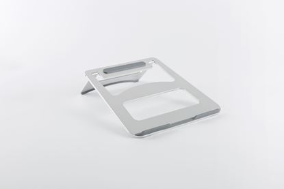Picture of BRATECK Folding Ultra-Slim Aluminium Laptop Stand. Fits