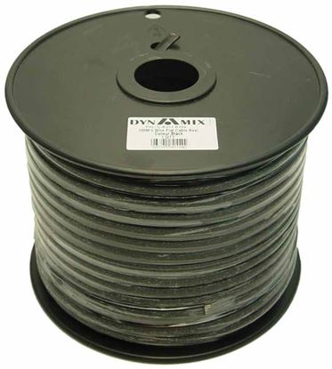 Picture of DYNAMIX 100m Roll 4-Wire Flat Cable, Black colour