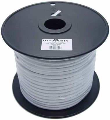 Picture of DYNAMIX 100m Roll 4-Wire Flat Cable, White colour