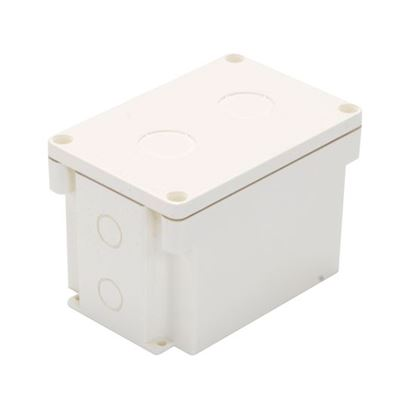 Picture of DYNAMIX IP67 Rated Surface Mounting Box. Hx 80mm, Dx 81mm, Wx 120mm.