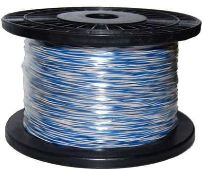 Picture of DYNAMIX 250m Blue & White Jumper Cable Roll, Copper: 0.5mm² (non-