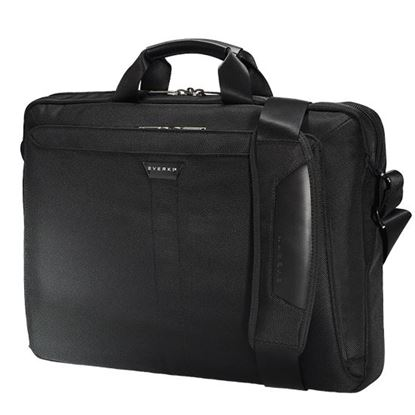 "Picture of EVERKI Lunar Laptop Briefcase 18.4"" , Magnetic quick access pocket,"