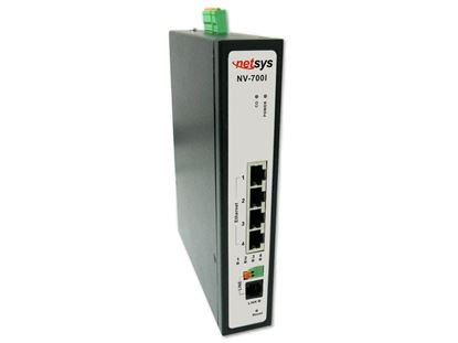Picture of NETSYS Managed Industrial VDSL2 CO/CPE Modem. -20 ~70C.
