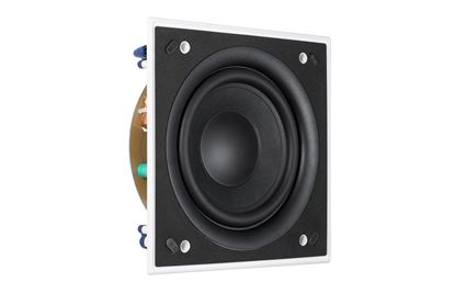 "Picture of KEF Ultra Thin Bezel 8"" Square In-Wall Subwoofer. THX ULTRA2 , and"