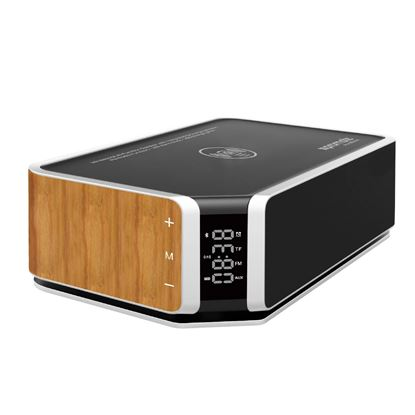 Picture of PROMATE Wireless Multi-Function speaker with integrated  QI