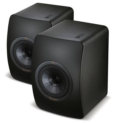 Picture of KEF Black Edition Innovative Studio Monitor Speakers. Uni-Q