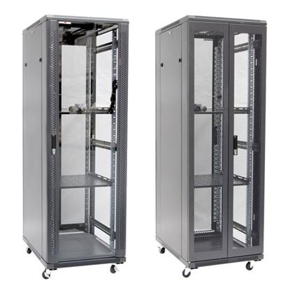 Picture of DYNAMIX 37RU Server Cabinet 1000mm Deep (600 x 1000 x 1853mm). FLAT