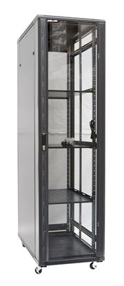 Picture of DYNAMIX 42RU Server Cabinet 1000mm Deep (600 x 1000 x 2077mm). FLAT