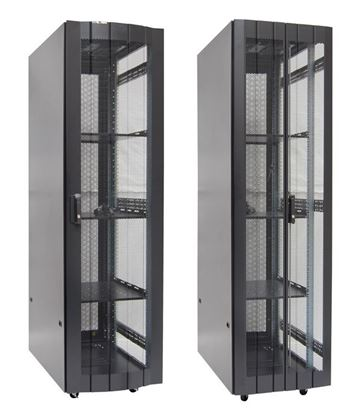 Picture of DYNAMIX 45RU Server Cabinet 1000mm deep (600 x 1000 x 2181mm) FLAT