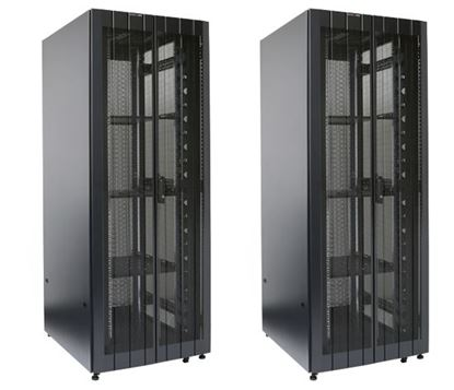 Picture of DYNAMIX 45RU Server Cabinet 1000mm Deep (800 x 1000 x 2181mm) 2x Front