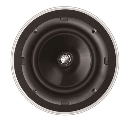"""Picture of KEF Ultra Thin Bezel 8"""" Round In-Ceiling Speaker. 200mm Uni-Q"""