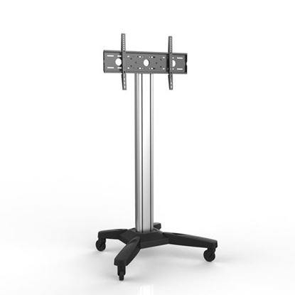 Picture of BRATECK 37'-70' Mobile TV cart. Max load: 80kg. Max height 1860mm.