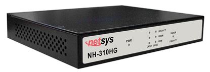 Picture of NETSYS Giga Ethernet over Coax Master. MDU / MTU applications.