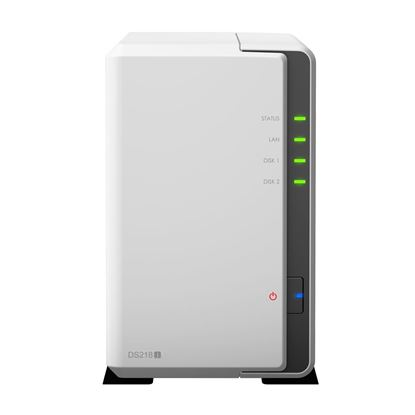 Picture of SYNOLOGY DS218j RtG 2 bay Bare Bone NAS System. Marvell Armada