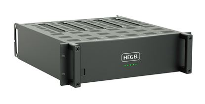 """Picture of HEGEL C53 Power Amplifier for 3U 19"""" Rack Mount."""