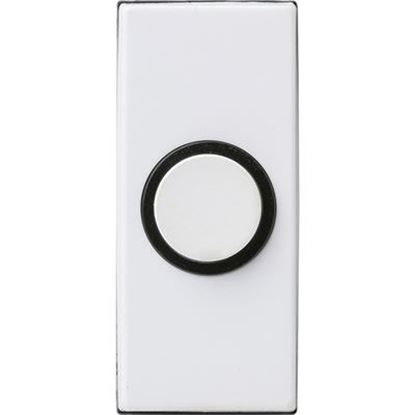 Picture of HONEYWELL Sesame Push DoorBell. Wired. IP40. Fixings Included.