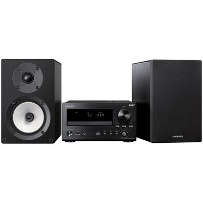 Picture of ONKYO High Performance Hi-Fi 2-Way Bookshelf Speakers. 12cm N-OMF