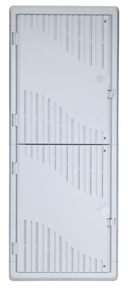 "Picture of DYNAMIX 42"" Recessed Plastic Network Enclosure, WiFi Ready,"