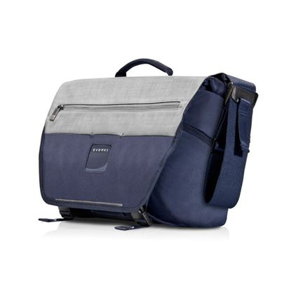 "Picture of EVERKI ContemPRO 14.1"" Bike Laptop Messenger Bag. Dedicated Pockets"