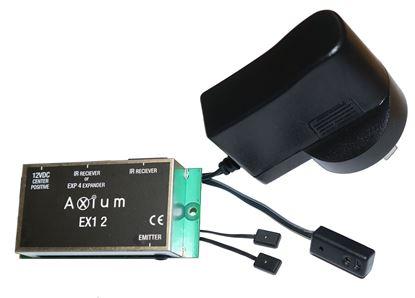 Picture of AXIUM IR Kit 12 IR Receiver. Plasma, LED, LCD, Sky/MySky Box