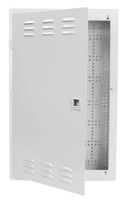 Picture of DYNAMIX 20' FTTH Low Profile Network Enclosure Recessed Wall