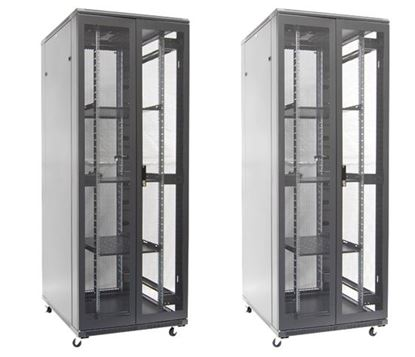 Picture of DYNAMIX 45RU Server Cabinet 800mm Deep (800 x 800 x 2210mm). FLAT