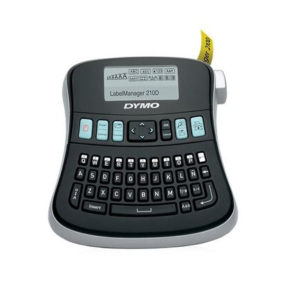 Picture of DYMO LabelManager 210D Desktop Labeller, with QWERTY keyboard, 6