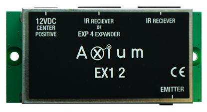 Picture of AXIUM 1 IR out Connecting block with powersupply connectionIR