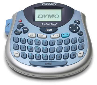 Picture of DYMO LetraTag Plus 100T  Compact Label Maker Portable,with Qwerty