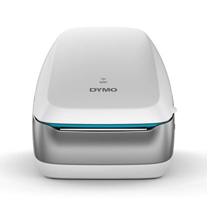 Picture of DYMO LabelWriter Wireless (White) Printer. Cable-free Convenience.