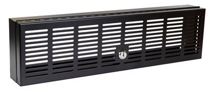 Picture of DYNAMIX 3RU 19' Server Security Lock. Fully Enclosed Top, Bottom, &