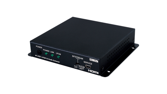 Picture of CYP HDMI 4K Audio Extractor with EDID Management & RS-232 Control.