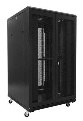 Picture of DYNAMIX 45RU Server Cabinet 1200mm Deep (800 x 1200 x 2210mm). Incl. 3