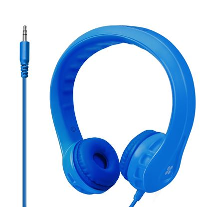 Picture of PROMATE Kid-Friendly Overear Wired Headphones. Superb stereo sound.