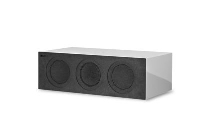 Picture of KEF Microfibre Grilles to fit KEF R2C. Colour - Grey