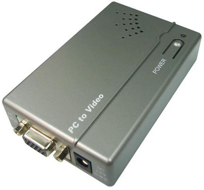 Picture of CYP VGA to S-Video/Composite Converter Supports high-resolution