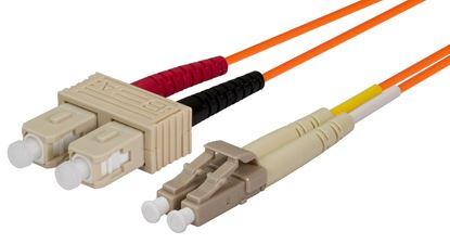 Picture of DYNAMIX 15M 62.5u LC/SC OM1 Fibre Lead (Duplex, Multimode)